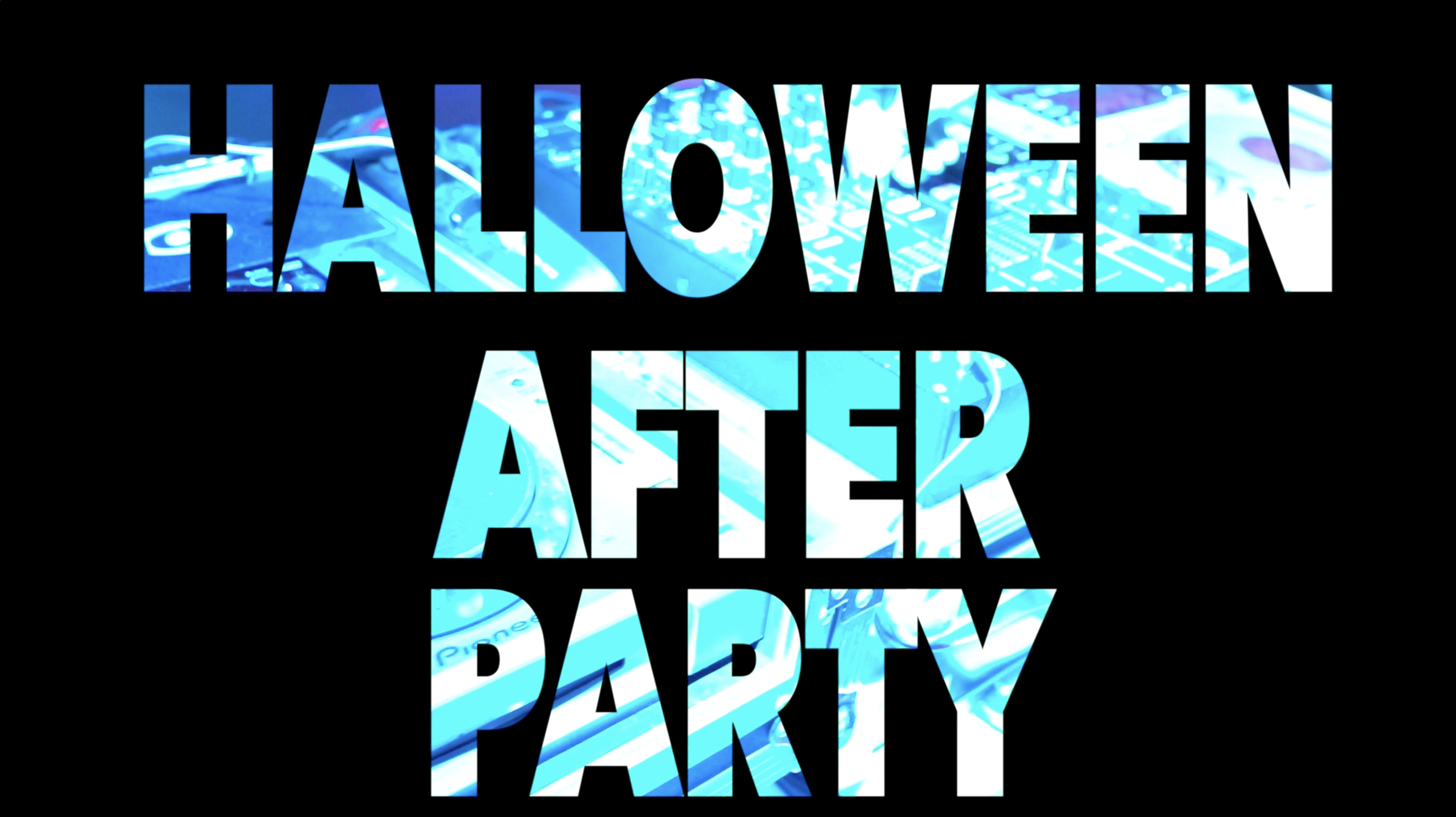 Halloween After Party Video endlich online